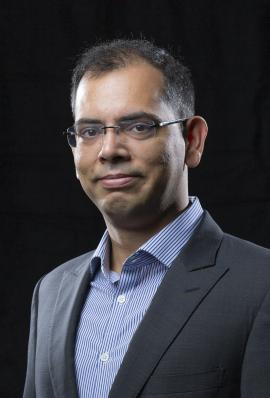 Dr. Hridesh Rajan (Christopher Gannon/Iowa State University)
