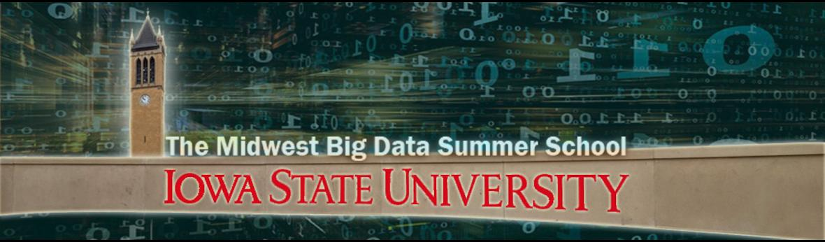 Midwest big data summer school banner